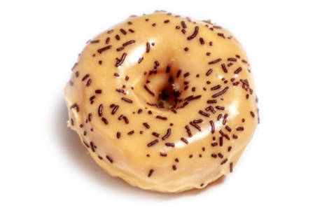 Café-Latte-donut-at-wicked-donuts