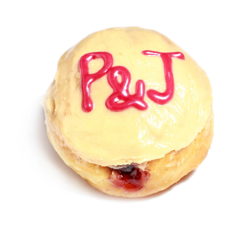 P&J donut by wicked donuts